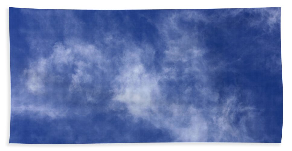 Cloud.sky Hand Towel featuring the photograph Clouds 9 by Teresa Mucha