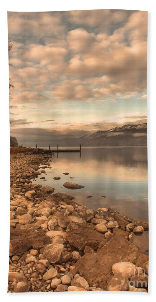 Clouds Hand Towel featuring the photograph Clouds And Calmness by Tara Turner