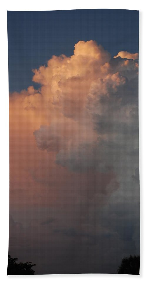 Clouds Hand Towel featuring the photograph Clouds And More Clouds by Rob Hans