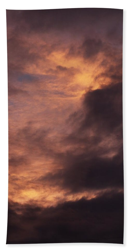 Clay Hand Towel featuring the photograph Clouds by Clayton Bruster