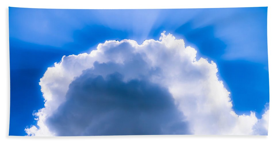Clouds Hand Towel featuring the photograph Clouds by Edward Fielding