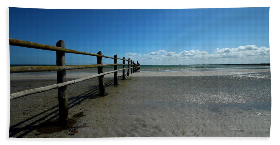 Baltic Sea Bath Sheet featuring the photograph Clouds by Heike Hultsch