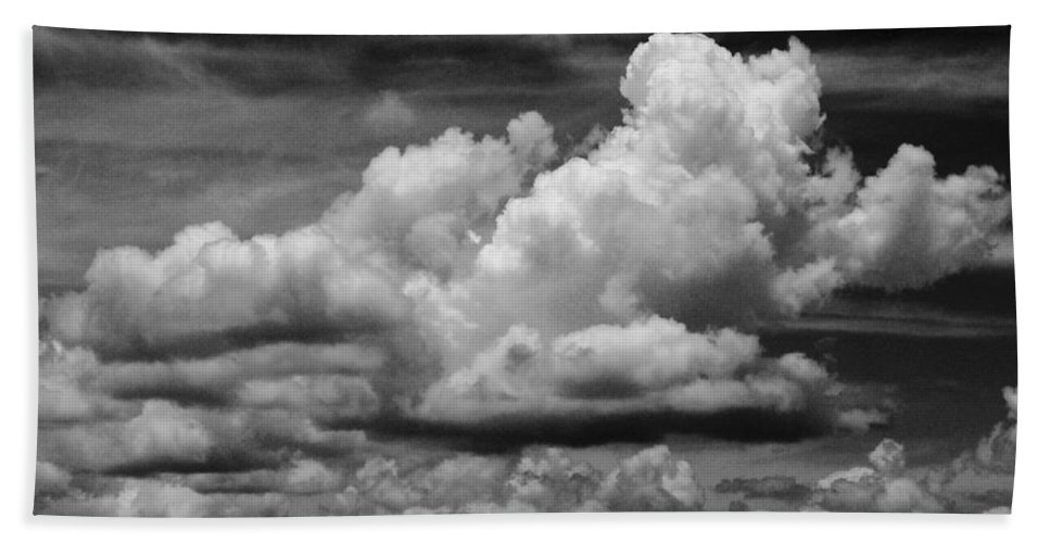 Clouds Bath Sheet featuring the photograph Clouds I I by Jim Smith