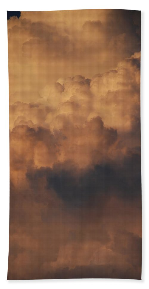 Clouds Bath Towel featuring the photograph Clouds In Color by Rob Hans