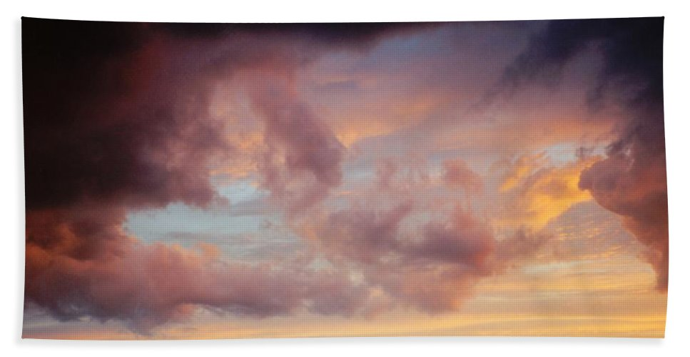 Clouds Hand Towel featuring the photograph Clouds by Marcin and Dawid Witukiewicz