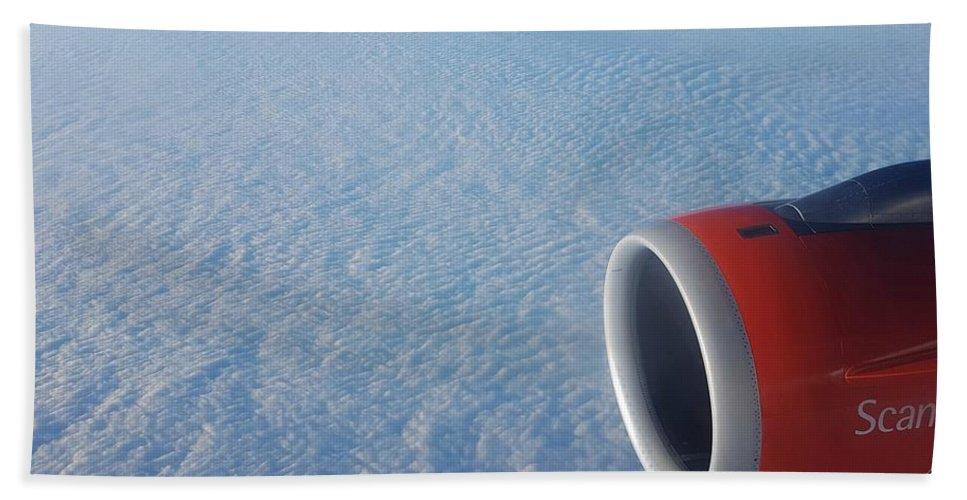 Cloud Bath Sheet featuring the photograph Clouds by Mihai Bardan