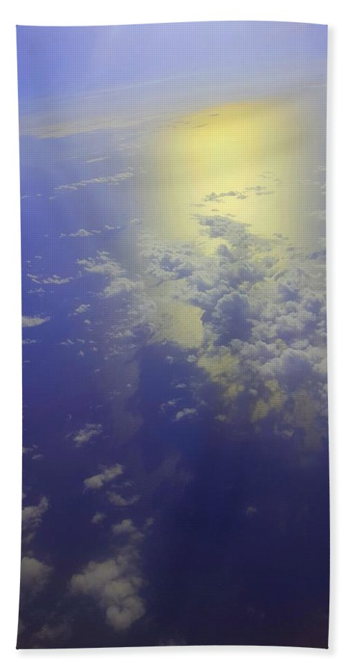 Bath Sheet featuring the photograph Clouds by Tru Tography