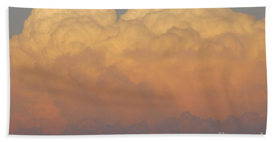 Clouds Bath Towel featuring the photograph Cloudscape Work Number Six by David Lee Thompson