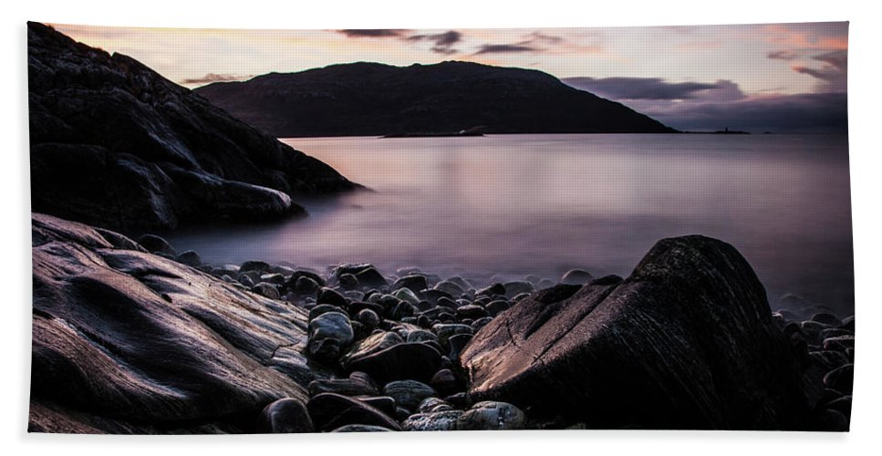 Norway Bath Sheet featuring the photograph Coast Of Norway by Sebastian Worm