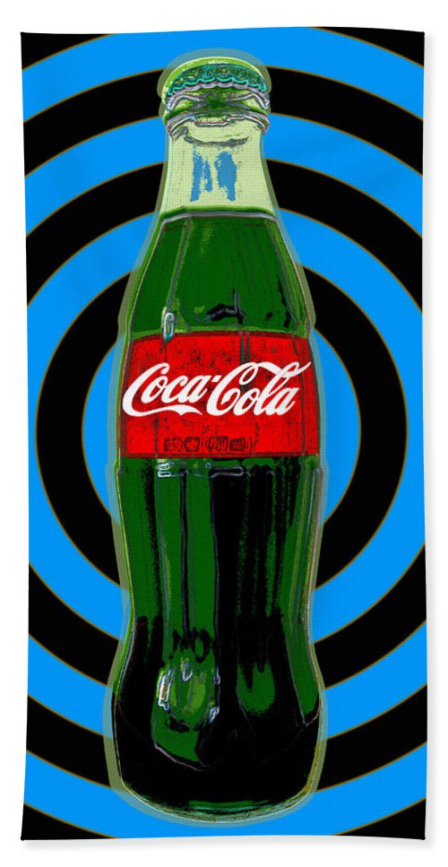 Coca Cola Pop Art Hand Towel for Sale by Jean luc Comperat