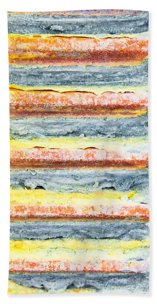 Abstract Bath Towel featuring the photograph Cog by Tom Gowanlock