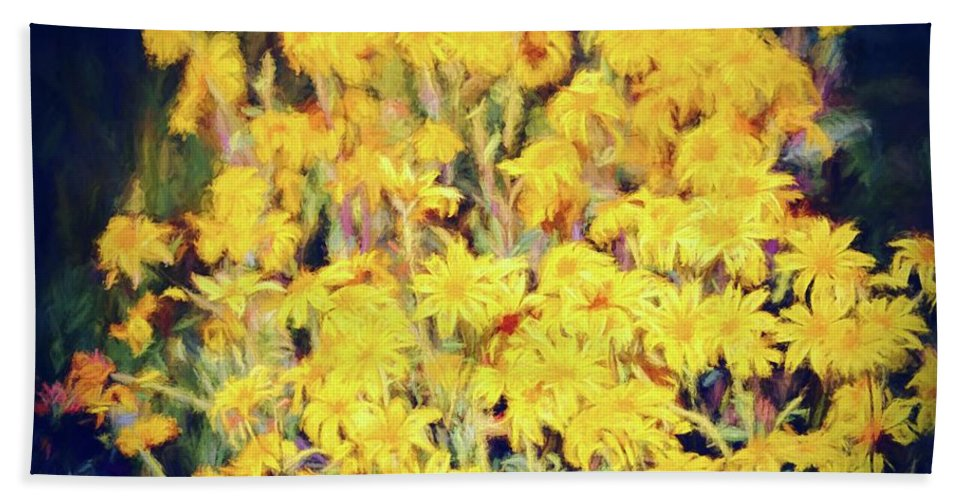 Floral Bath Sheet featuring the photograph Color 157 by Pamela Cooper