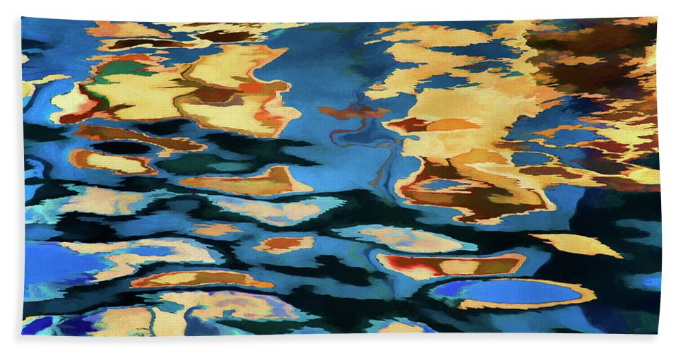 Abstract Bath Towel featuring the photograph Color Abstraction Lxix by David Gordon