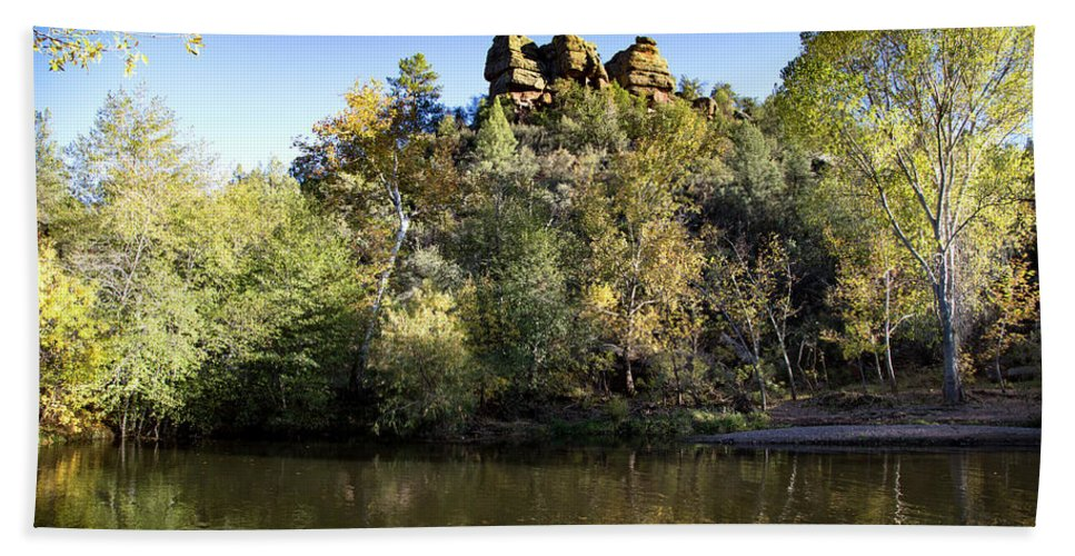 Arizona Hand Towel featuring the photograph Color Surround by Cathy Franklin