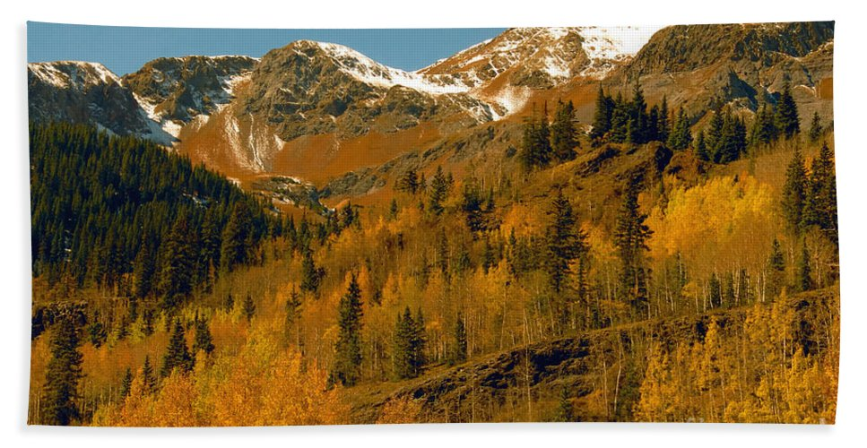Colorado Hand Towel featuring the photograph Colorado by David Lee Thompson