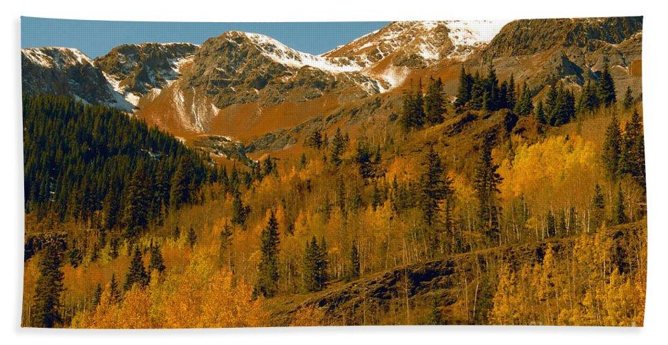Colorado Bath Sheet featuring the photograph Colorado by David Lee Thompson