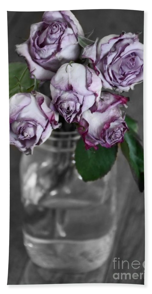 Flowers Hand Towel featuring the photograph Bring Color To My World by Julie Street
