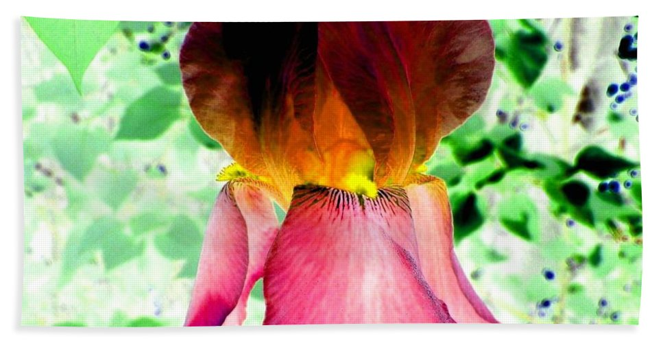 Photo Design Bath Towel featuring the digital art Colormax 3 by Will Borden