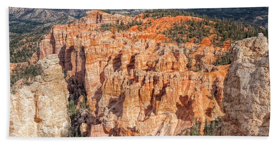 Landscape Bath Sheet featuring the photograph Colors Of Bryce by John M Bailey