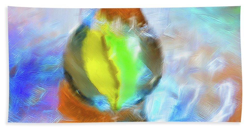 Colour Bath Sheet featuring the digital art Colour Splash by Debbie Deboo