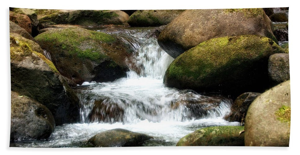 Clearwater Falls Bath Sheet featuring the photograph Columbia Gorge 2 by Ingrid Smith-Johnsen