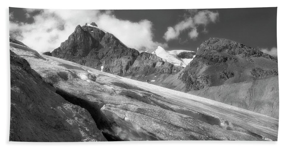 Landscape Bath Sheet featuring the photograph Columbia Ice Field by Keith Vanstone