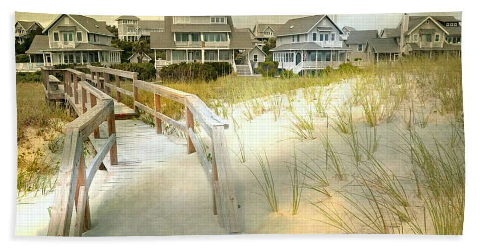 Bald Head Island Bath Sheet featuring the photograph Come To My Senses by Diana Angstadt