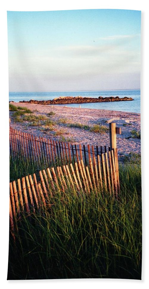 Summer Hand Towel featuring the photograph Connecticut Summer by John Scates