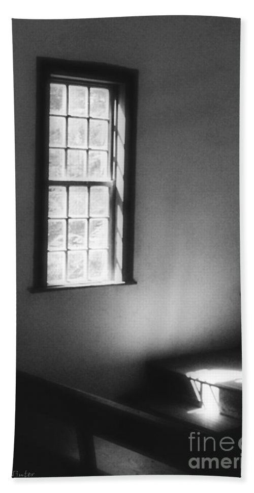 Window Hand Towel featuring the photograph Contemplation by RC DeWinter