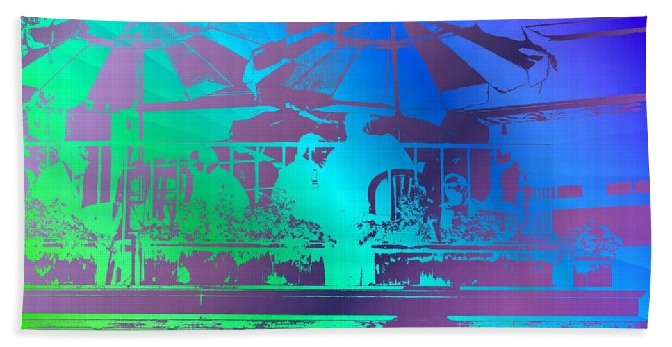Seattle Bath Sheet featuring the photograph Copacabana by Tim Allen