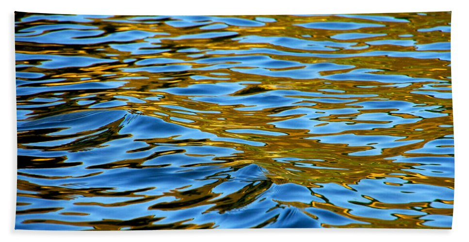 Water Bath Sheet featuring the photograph Copper Melody by Donna Blackhall