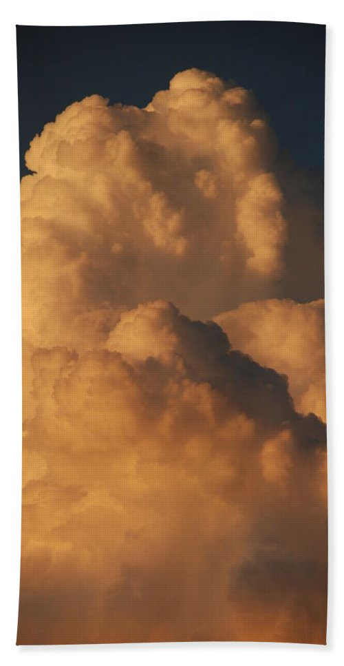 Clouds Hand Towel featuring the photograph Coppermouth by Rob Hans