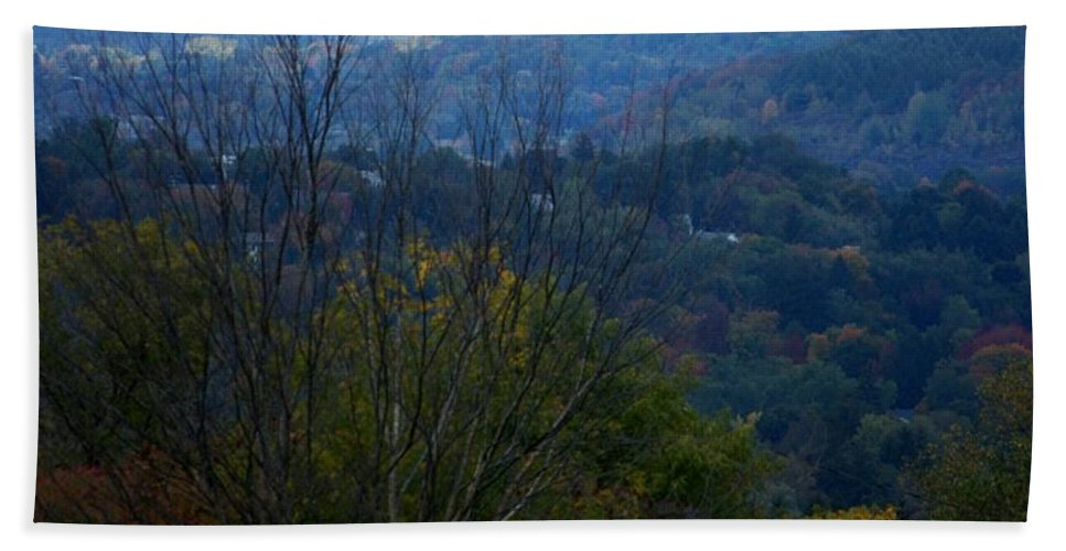 Digital Photograph Hand Towel featuring the photograph Cortland Ny by David Lane