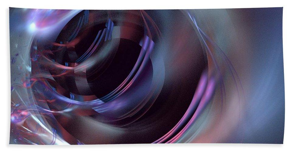 Apophysis Bath Sheet featuring the digital art Cosmic by Kim Sy Ok