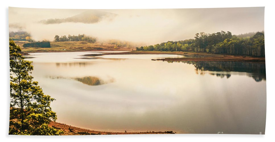 Australia Hand Towel featuring the photograph Country Waters by Jorgo Photography - Wall Art Gallery