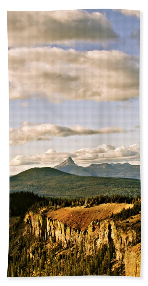 Crater Lake Hand Towel featuring the photograph Crater Lake IIi by Albert Seger