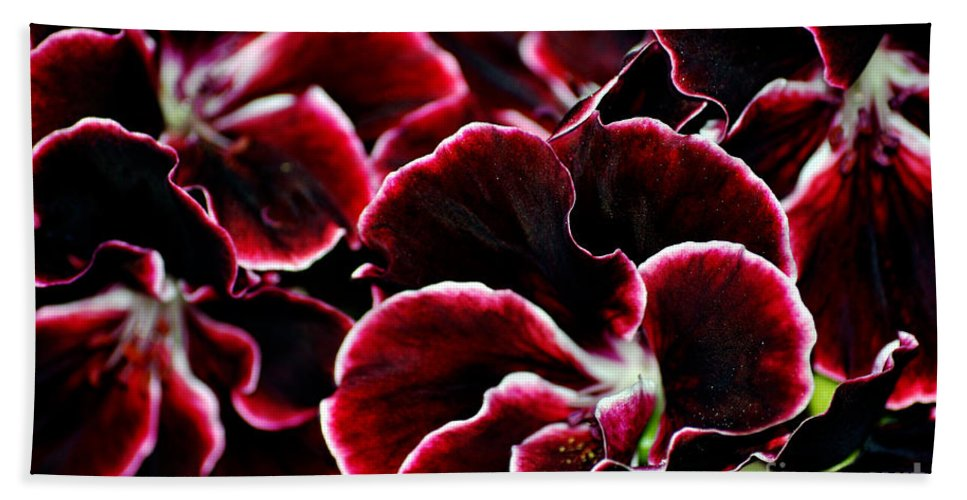 Clay Bath Sheet featuring the photograph Crimson Propellers by Clayton Bruster