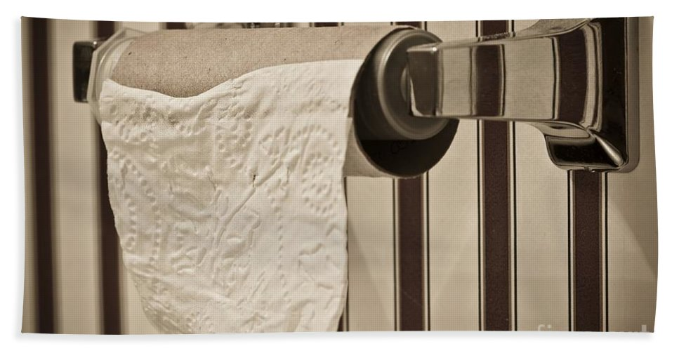 Critical Hand Towel featuring the photograph Critical Thinking by Charles Dobbs