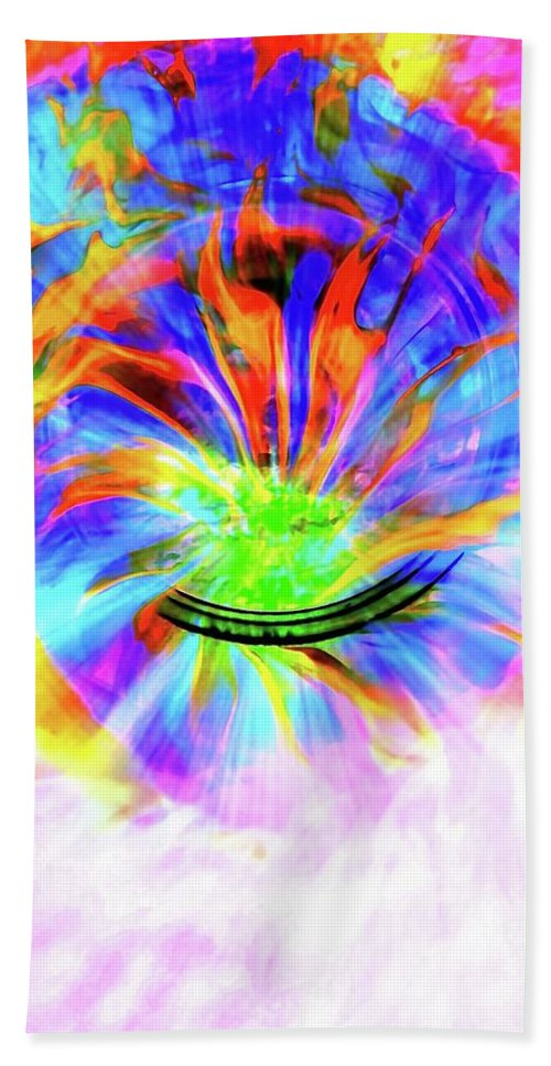 Crystal Ball Bath Sheet featuring the photograph Crystal Ball Visions by Tim G Ross