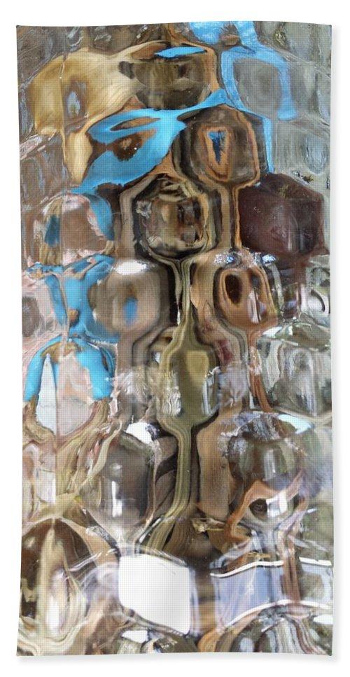 Crystal Blue Bath Sheet featuring the photograph Crystal Blue by Ann Hamlin
