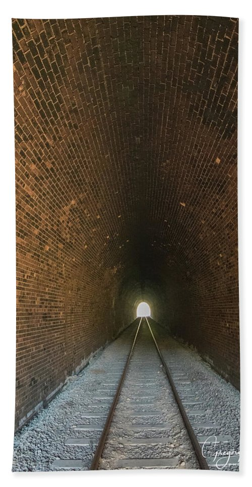 Dalveen Hand Towel featuring the photograph Dalveen Railway Tunnel 1880 by Gregory Grant