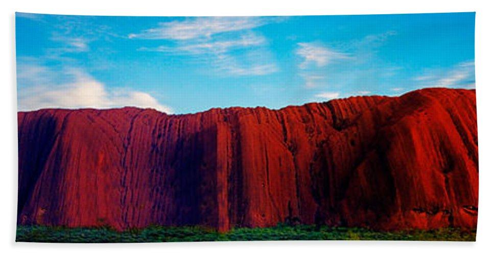 Uluru Hand Towel featuring the photograph Darwin 4 by Ben Yassa