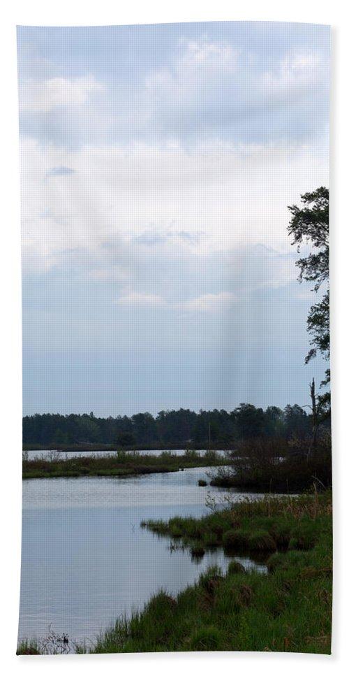 Nature Bath Sheet featuring the photograph Dawn by Linda Kerkau