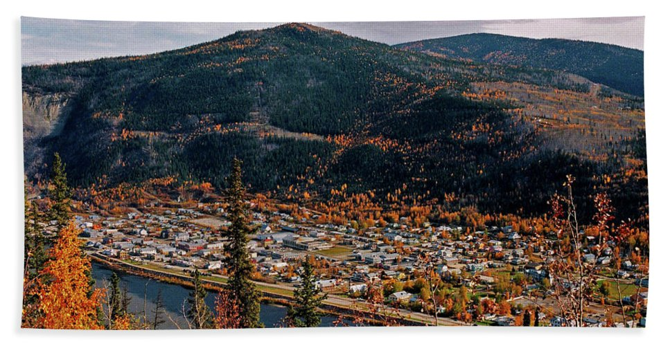 Canada Bath Towel featuring the photograph Dawson City - Yukon by Juergen Weiss
