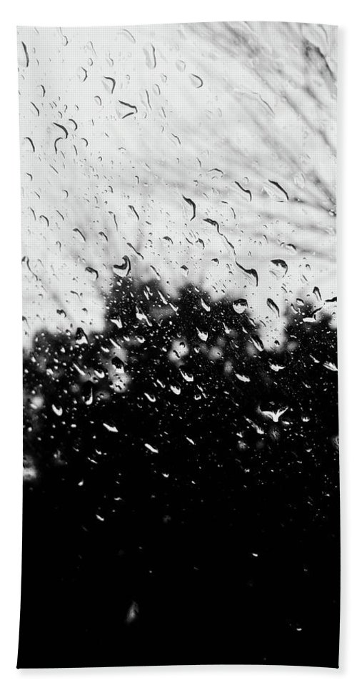 Rainy Hand Towel featuring the photograph Day Dreaming by David Rafael