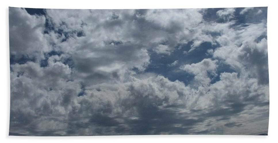 Clouds Hand Towel featuring the photograph Daydreaming by Shari Chavira