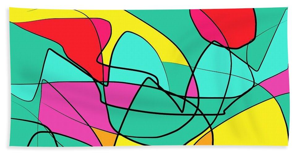 Beach Bath Sheet featuring the digital art Daylight by Chani Demuijlder