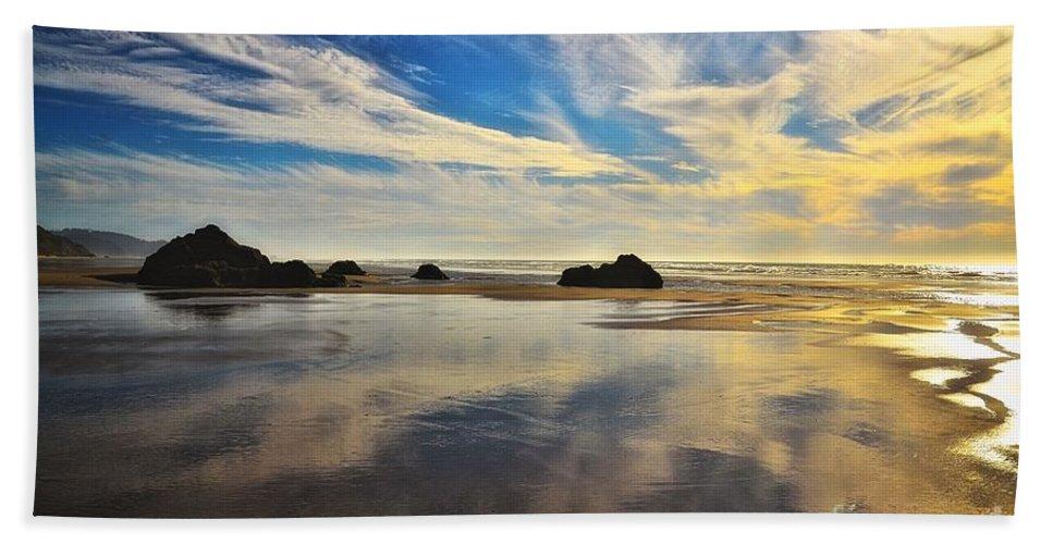 Beach Bath Sheet featuring the photograph Days End by Lauren Leigh Hunter Fine Art Photography