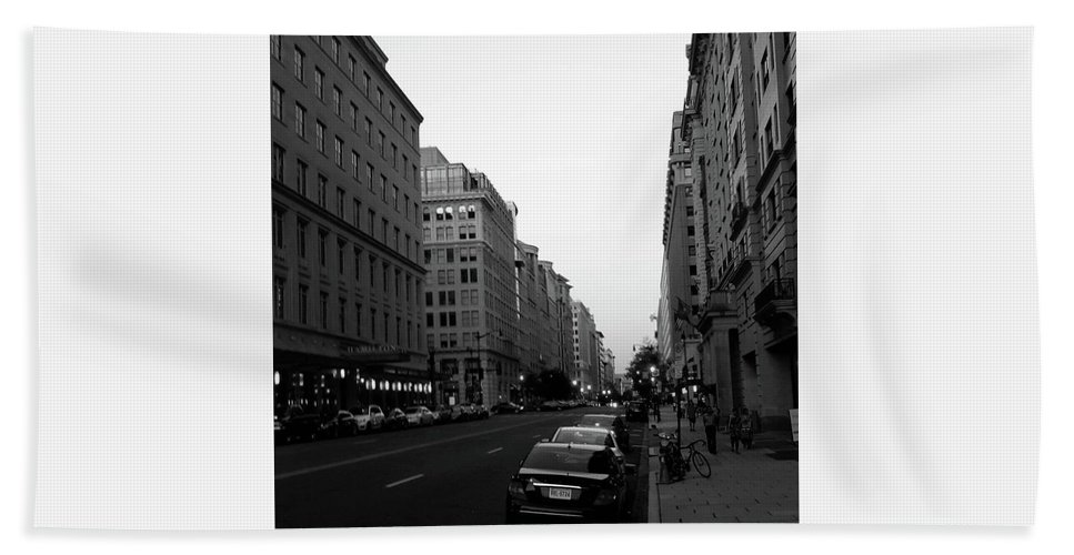 Washington Dc Bath Sheet featuring the photograph Dc Afternoons by Antonio Moore