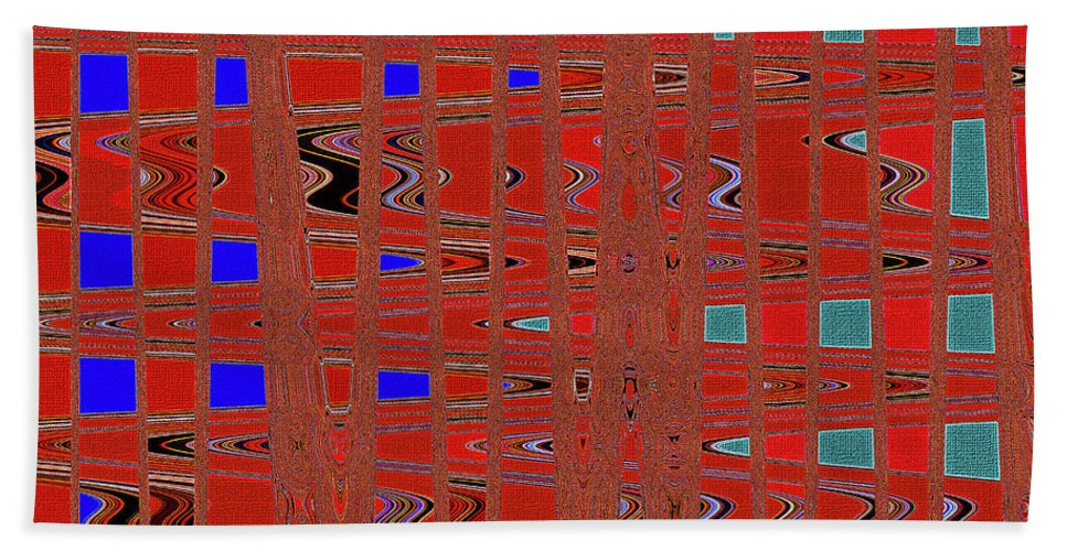 Dead Tree Abstract #4 Bath Sheet featuring the digital art Dead Tree Abstract #4 by Tom Janca